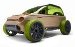 Automoblox wooden car - a green 4x4